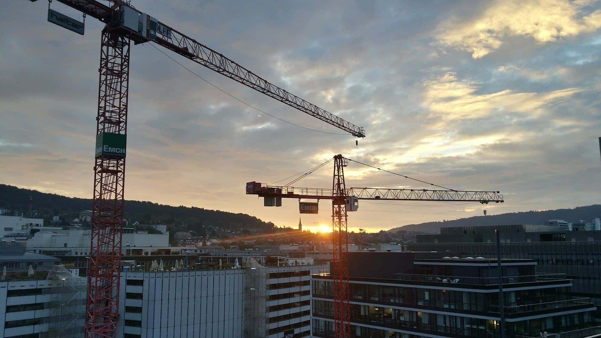 Sunset Crane Hire