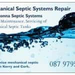 Mechanical Septic Tank Repair Business Card